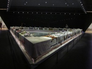 Judy Chicago at the Brooklyn Museum
