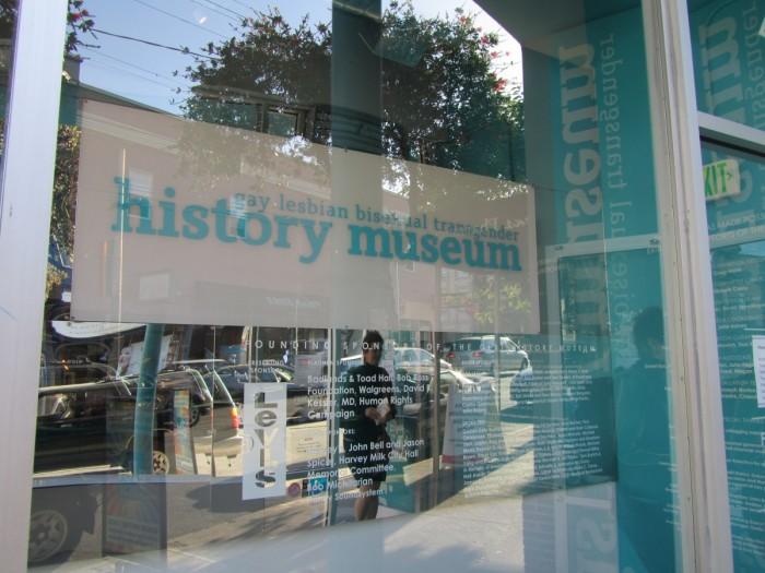 GLBT History Musem storefront