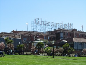 Ghirardelli Sign in San Francisco