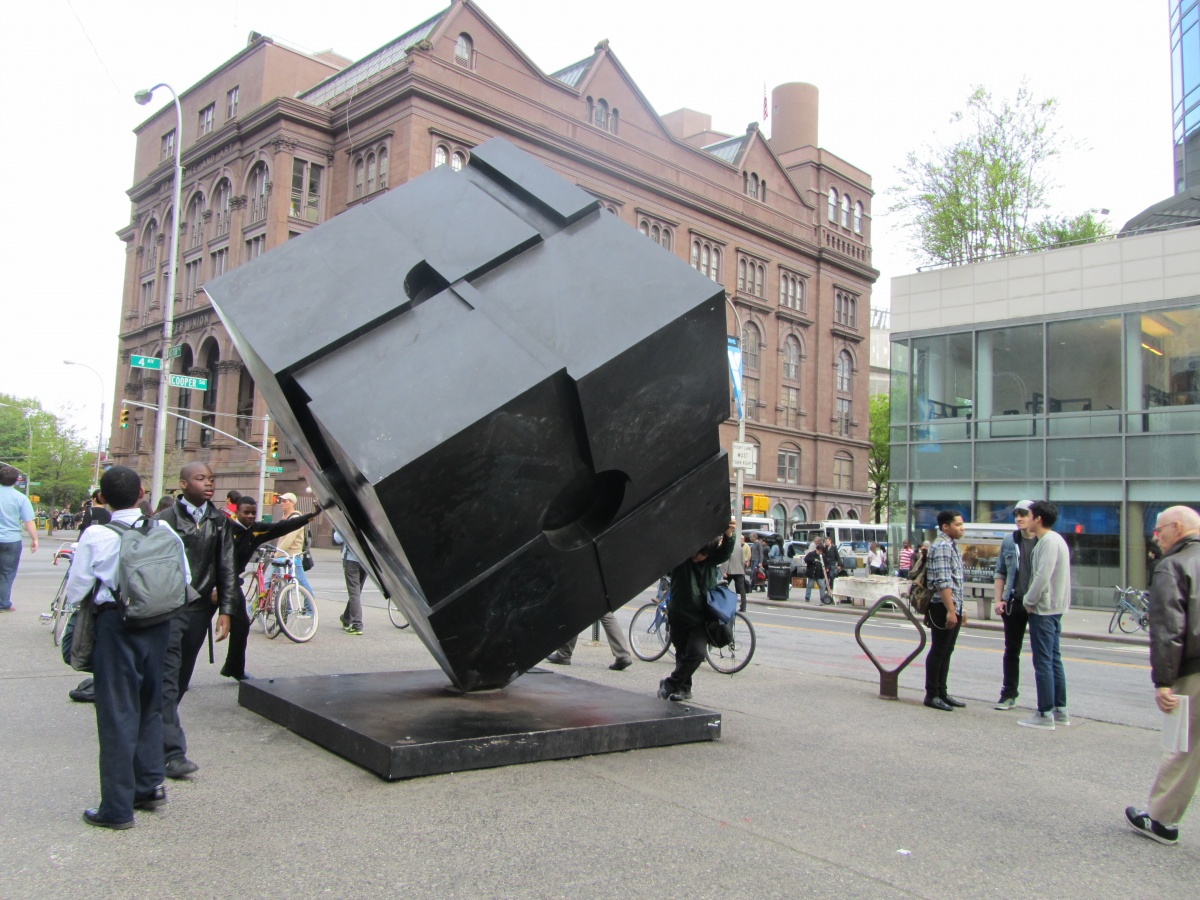 New York City Public Art, Alamo at Astor Place